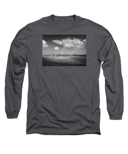 Trona Pinnacles Road  Long Sleeve T-Shirt
