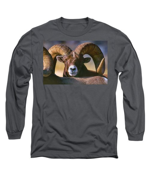 Trophy Bighorn Ram Long Sleeve T-Shirt