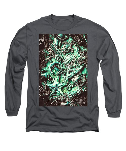 Tropical Bay Elements Long Sleeve T-Shirt