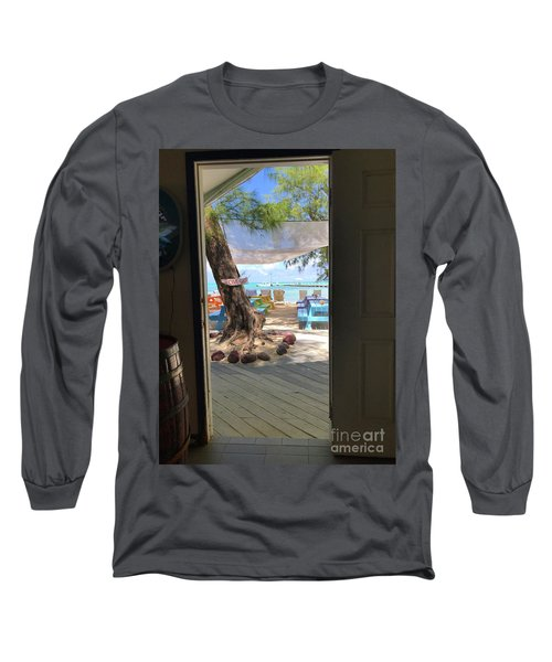 Tropical Entrance Long Sleeve T-Shirt