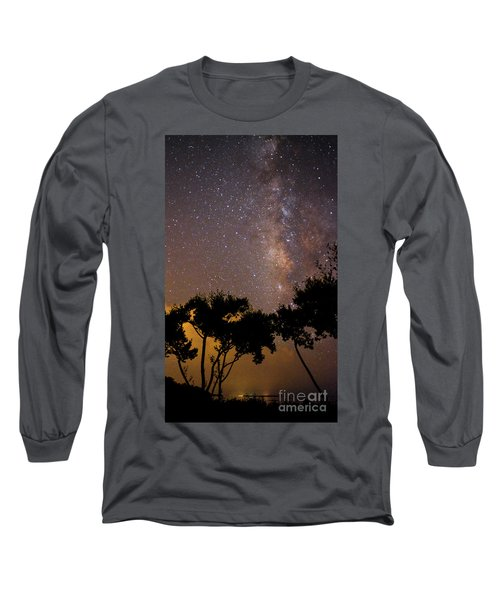 Tropical Milky Way Long Sleeve T-Shirt