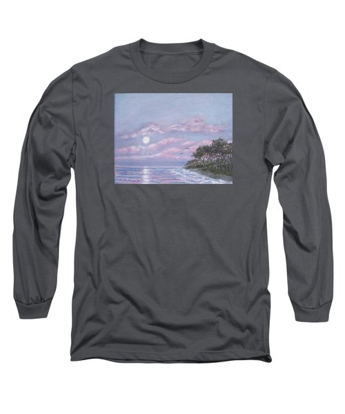 Tropical Moonrise Long Sleeve T-Shirt