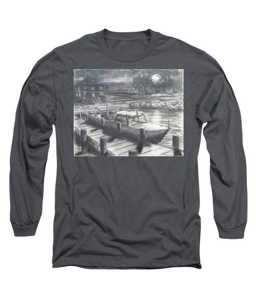 Tropical Moonrise Long Sleeve T-Shirt