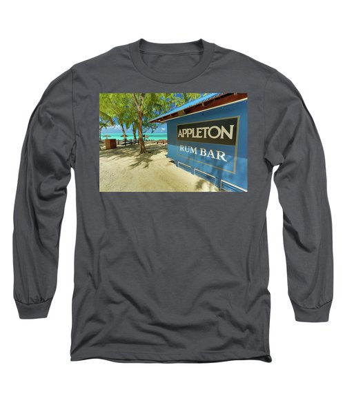 Tropical Rum Bar Long Sleeve T-Shirt