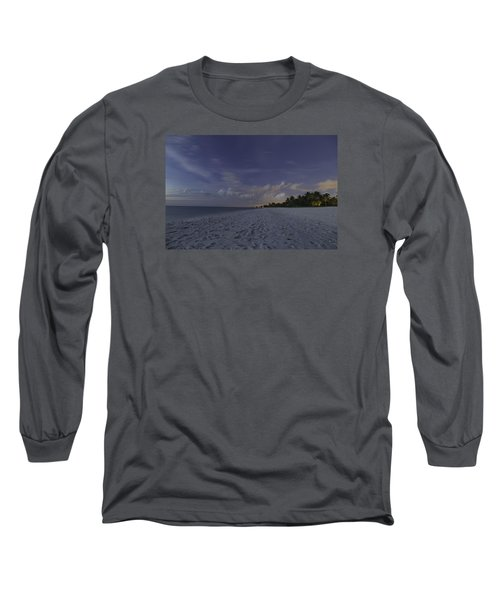 Tropical Winter Long Sleeve T-Shirt by Christopher L Thomley