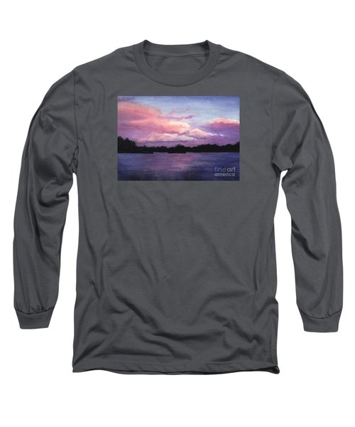 Trout Lake Sunset I Long Sleeve T-Shirt