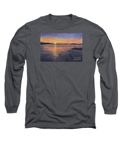 Trout Lake Sunset II Long Sleeve T-Shirt
