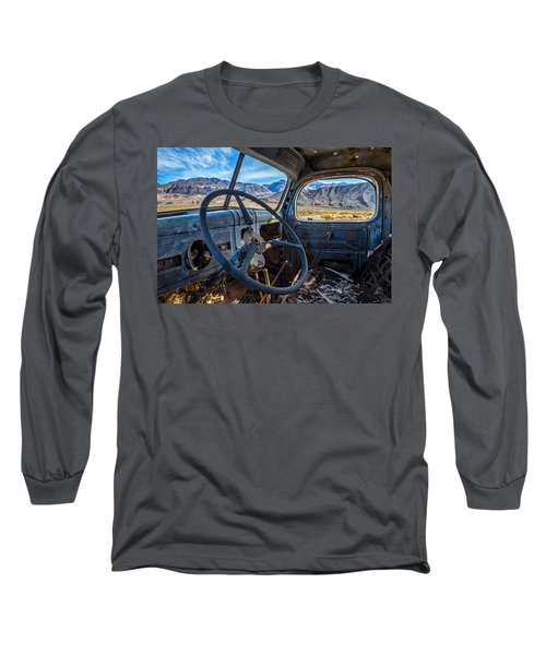 Truck Desert View Long Sleeve T-Shirt