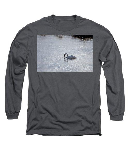 Trumpeter Swan Yellowstone Long Sleeve T-Shirt