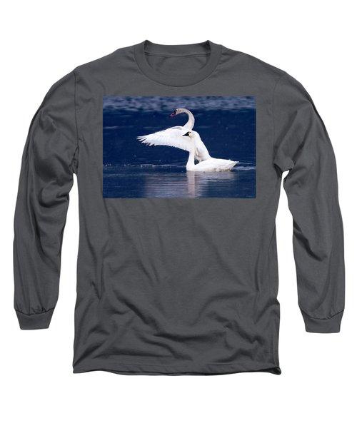 Trumpeter Swans Long Sleeve T-Shirt