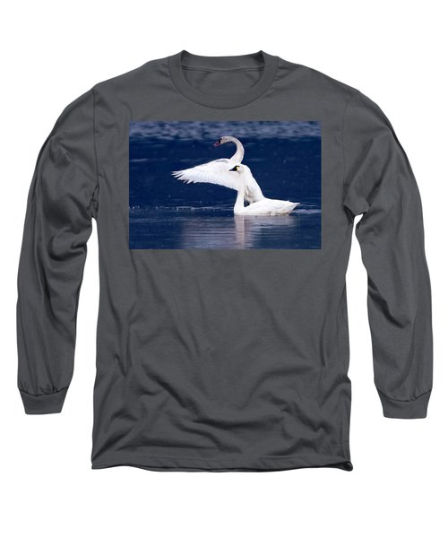 Trumpeter Swans Long Sleeve T-Shirt
