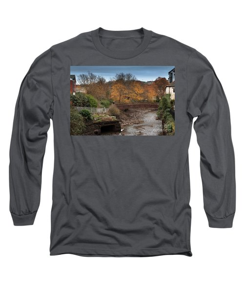Long Sleeve T-Shirt featuring the photograph Truro River by Brian Roscorla