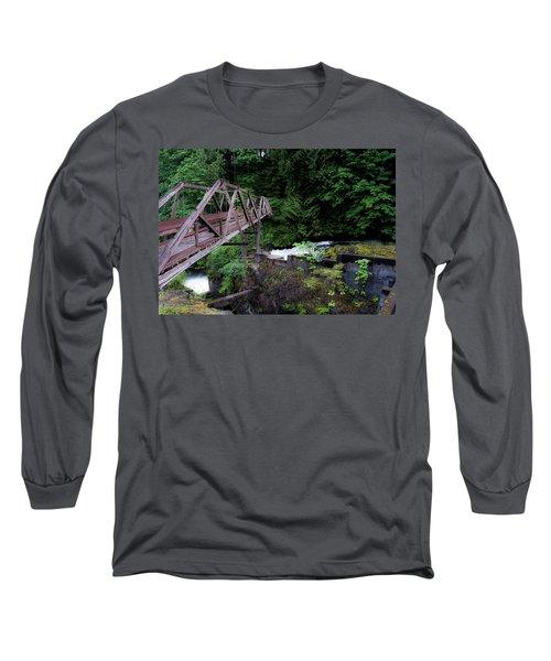 Trussting Long Sleeve T-Shirt by Rhys Arithson