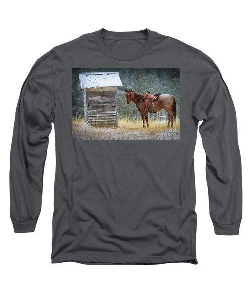 Trusty Horse  Long Sleeve T-Shirt