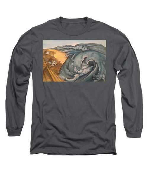 Tsunami  Long Sleeve T-Shirt