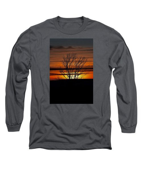 Tuesday Afternoon Sunset Long Sleeve T-Shirt by Dacia Doroff