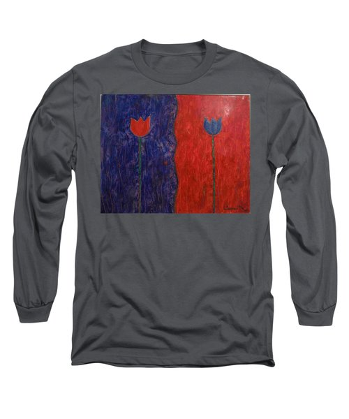 Tulip Long Sleeve T-Shirt by Walter Casaravilla