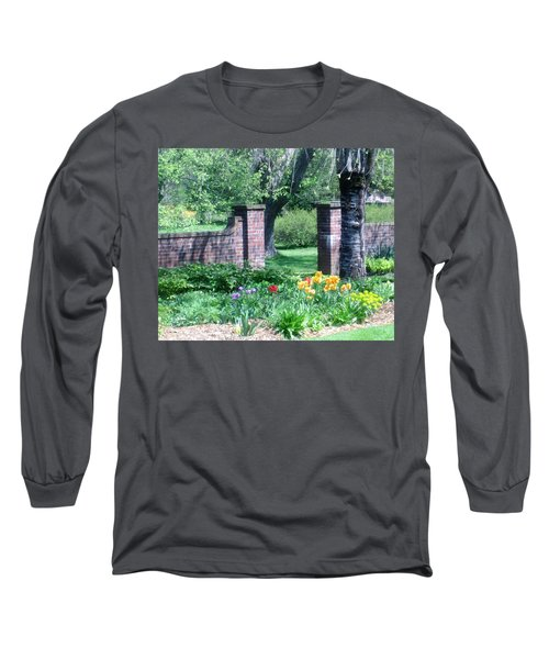 Tulips At Glen Magna Farms Long Sleeve T-Shirt by Paul Meinerth