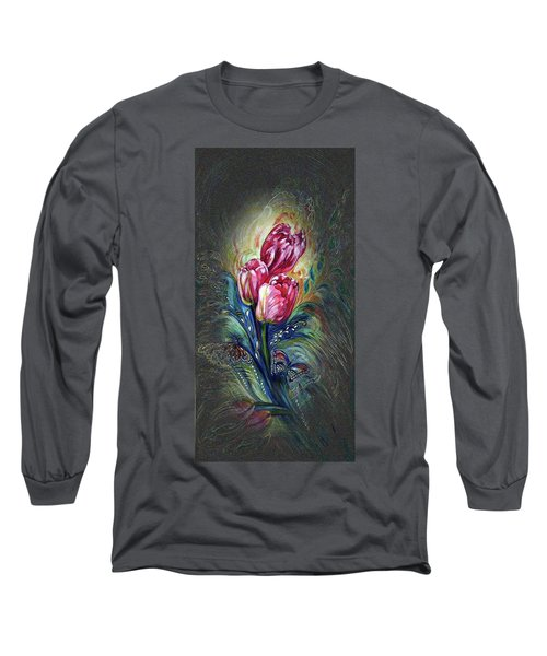 Tulips Fantasy Long Sleeve T-Shirt