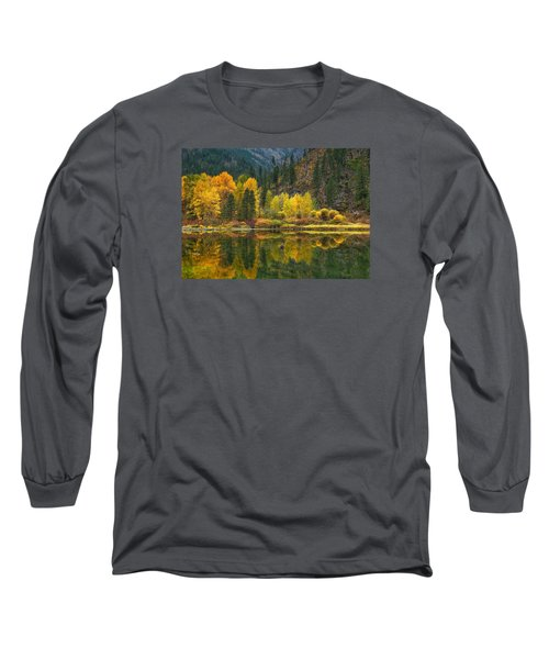 Tumwater Reflections Long Sleeve T-Shirt by Lynn Hopwood