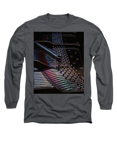 Tuning A Steinway For Jazz Long Sleeve T-Shirt