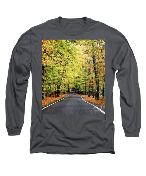 Tunnel Of Trees Long Sleeve T-Shirt