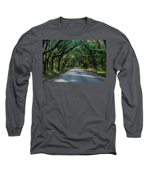 Long Sleeve T-Shirt featuring the photograph Tunnel On Botany Bay by Jon Glaser