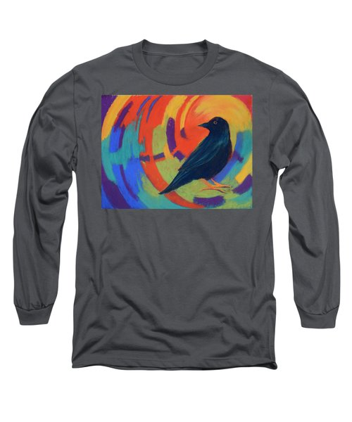 Tunnel Vision Long Sleeve T-Shirt by Nancy Jolley