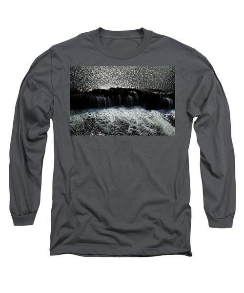 Turbulent Water Long Sleeve T-Shirt
