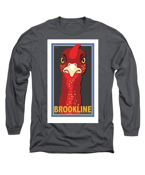 Turkey Stare Long Sleeve T-Shirt