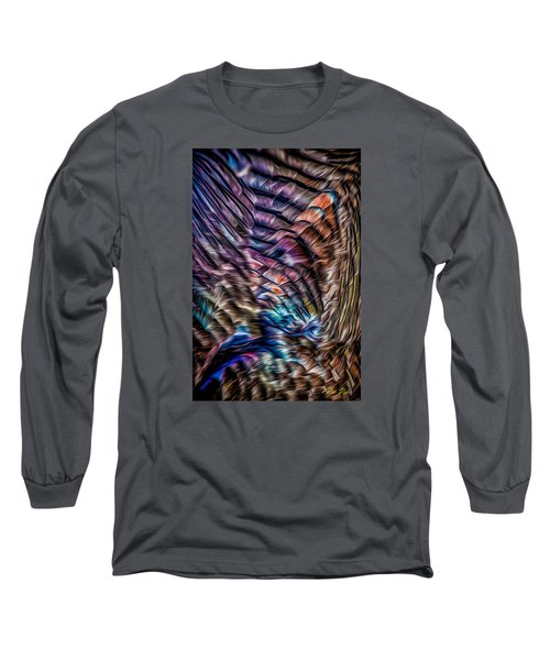 Long Sleeve T-Shirt featuring the photograph Turkey Sides by Rikk Flohr