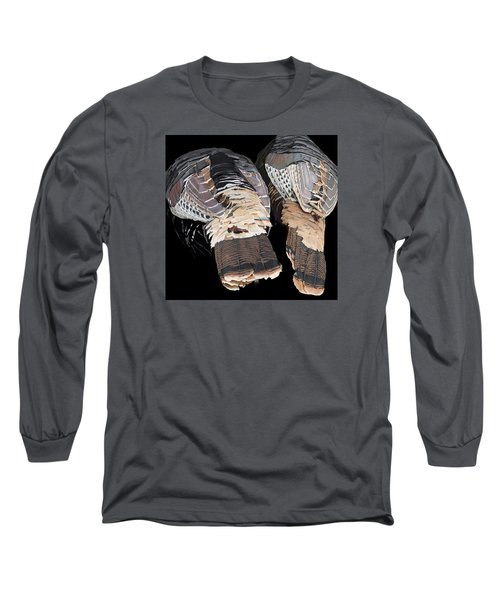 Turkey Tails Closeup Long Sleeve T-Shirt