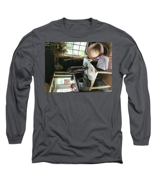 Turned Around Long Sleeve T-Shirt