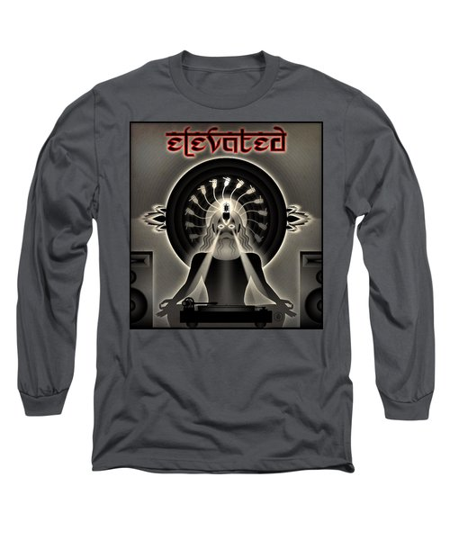 Turntable Guru Long Sleeve T-Shirt by Milton Thompson