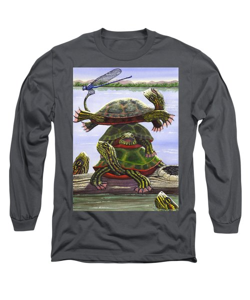 Turtle Circus Long Sleeve T-Shirt