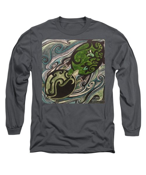 Turtle Love Long Sleeve T-Shirt