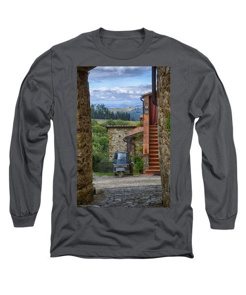 Tuscany Scooter Long Sleeve T-Shirt