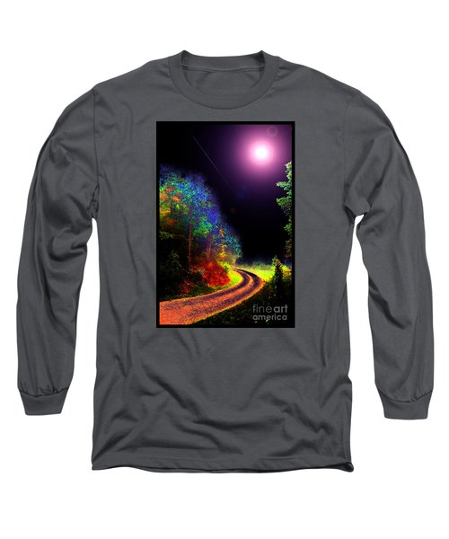 Twelve Dimensions Of Harmonic Delight Long Sleeve T-Shirt by Susanne Still