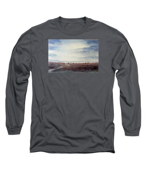 Twilight Settles On The Moors Long Sleeve T-Shirt