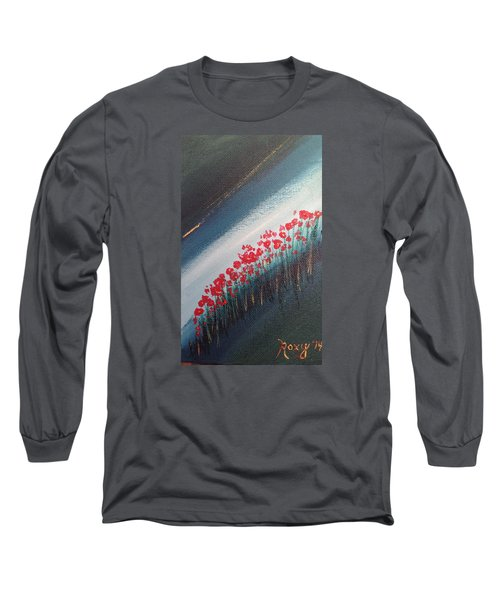 Twilight Poppies Long Sleeve T-Shirt