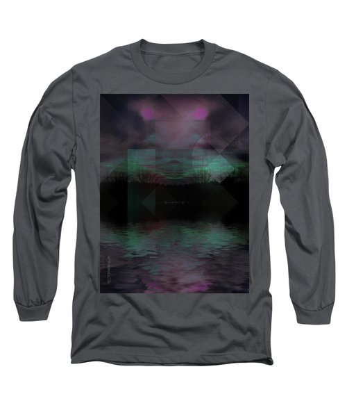 Long Sleeve T-Shirt featuring the digital art Twilight Zone by Mimulux patricia no No