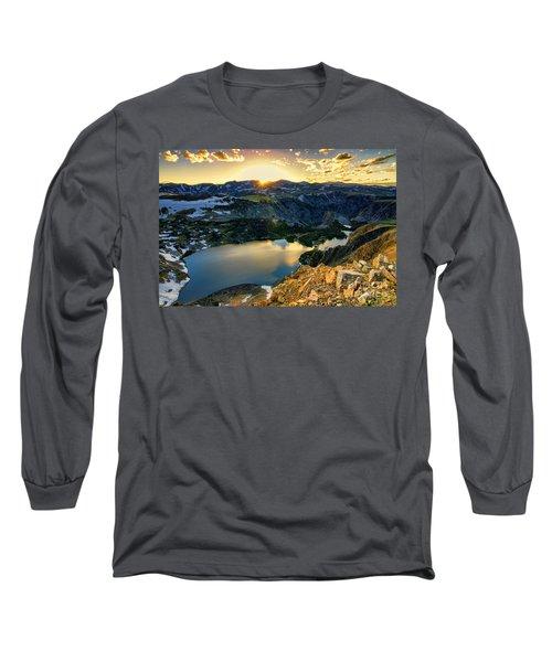 Twin Lakes Sunset Long Sleeve T-Shirt