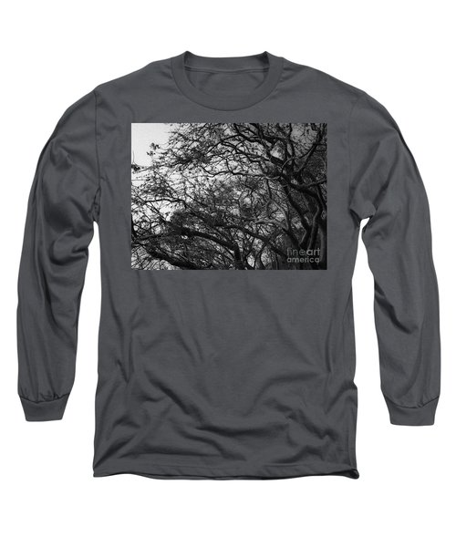 Twirling Branches Long Sleeve T-Shirt