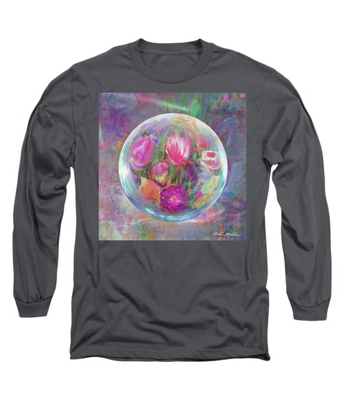 Twirling In Tulips Long Sleeve T-Shirt