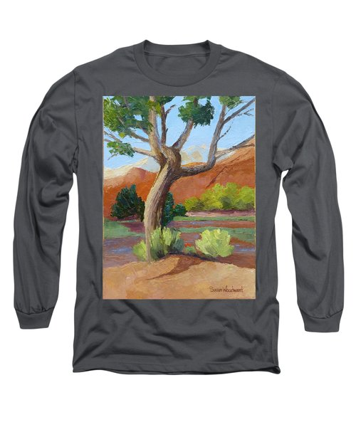 Twisted Long Sleeve T-Shirt by Susan Woodward