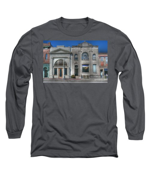 Two Banks Long Sleeve T-Shirt