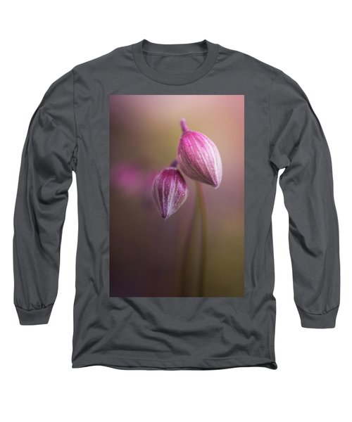 Two Buds Long Sleeve T-Shirt by Peter Scott