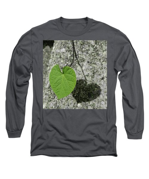 Long Sleeve T-Shirt featuring the photograph Two Hearts Entwined by Bruce Carpenter