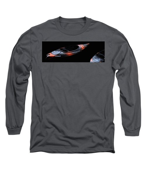 Two Kayaks - Isolated Long Sleeve T-Shirt