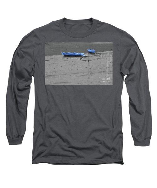 Two Kayaks Long Sleeve T-Shirt by Sebastian Mathews Szewczyk